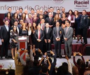 Rinde Raciel Pérez Cruz Primer Informe de Gobierno (1)
