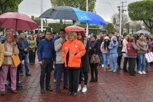 La administración que preside la alcaldesa Ruth Olvera Nieto participó en el Macro Simulacro Nacional 2020.