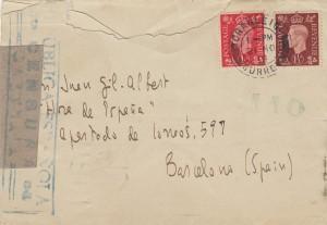 Carta Cernuda sobre I