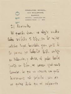 Carta Cernuda texto I